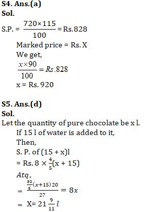 Quantitative Aptitude For SSC CGL,CHSL : 29th January 2020 for Profit & loss_80.1