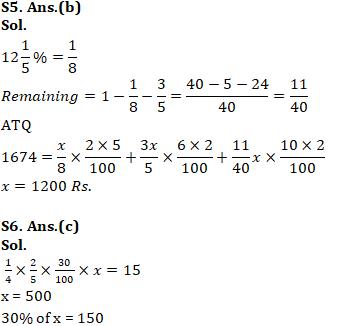 Quantitative Aptitude Quiz for SSC CHSL 29th January 2020 For Percentage , Profit & Loss , Simple Interest_120.1