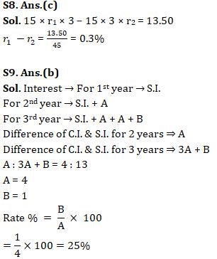 Quantitative Aptitude Quiz for SSC CHSL 29th January 2020 For Percentage , Profit & Loss , Simple Interest_140.1