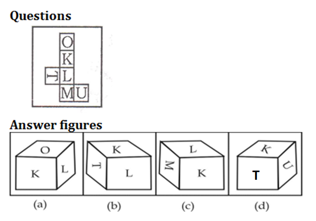 Logical venn-diagram, Dice and cube, figure counting Reasoning Quiz for SSC CHSL Exam 2020: 31st January 2020_110.1