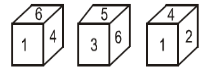 Logical venn-diagram, Dice and cube, figure counting Reasoning Quiz for SSC CHSL Exam 2020: 31st January 2020_120.1