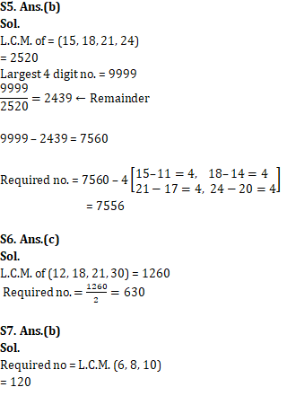 Mathematics Quiz For RRB NTPC : 31st January 2020 For HCF_60.1