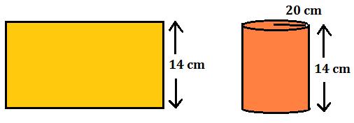 बेलन का आयतन : जानिए क्या हैं इसका सूत्र और कैसे करें इस पर आधारित प्रश्न solve_100.1