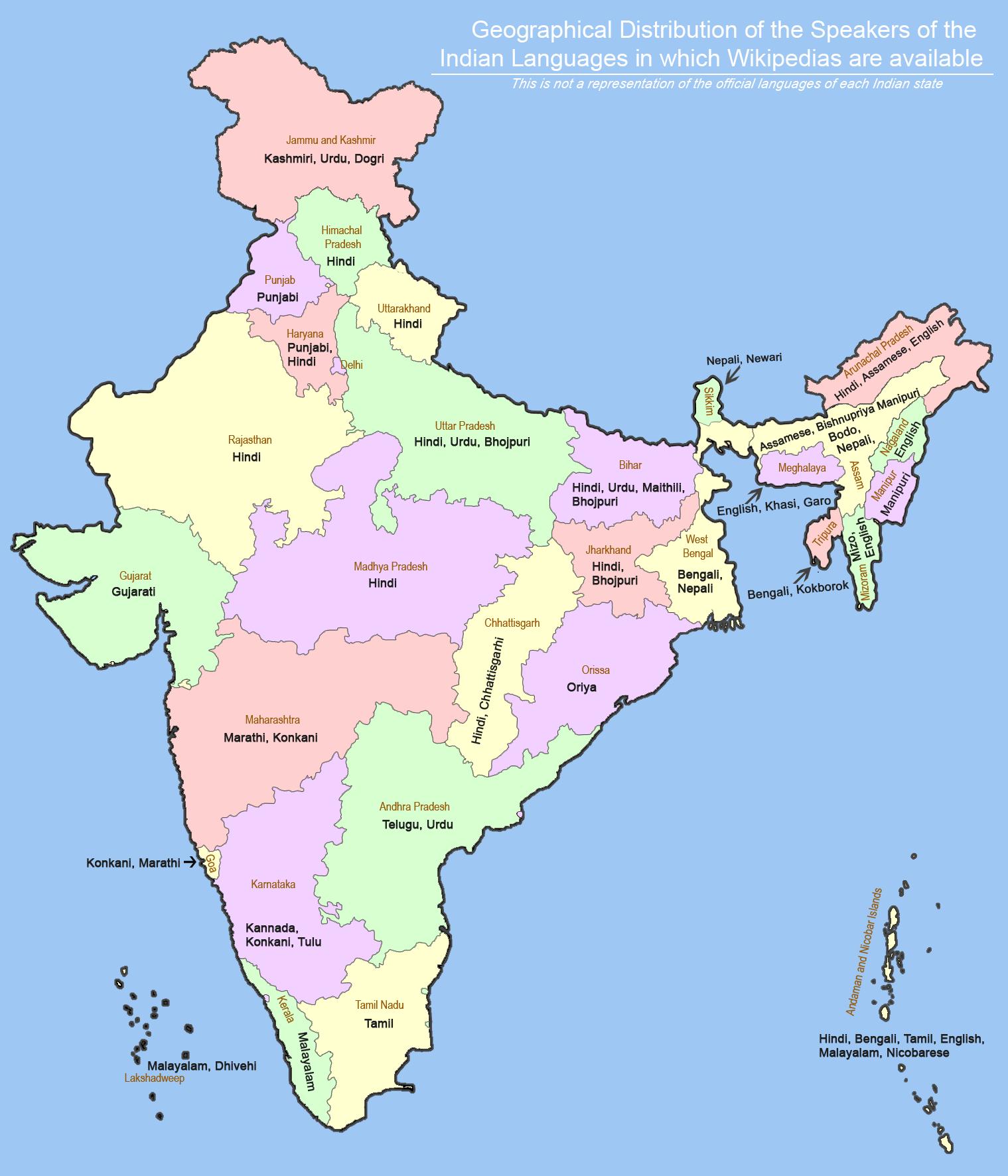 भारत की राष्ट्रीय भाषा क्या है? यहाँ देखें भारत की 22 भाषाओं की सूची_50.1