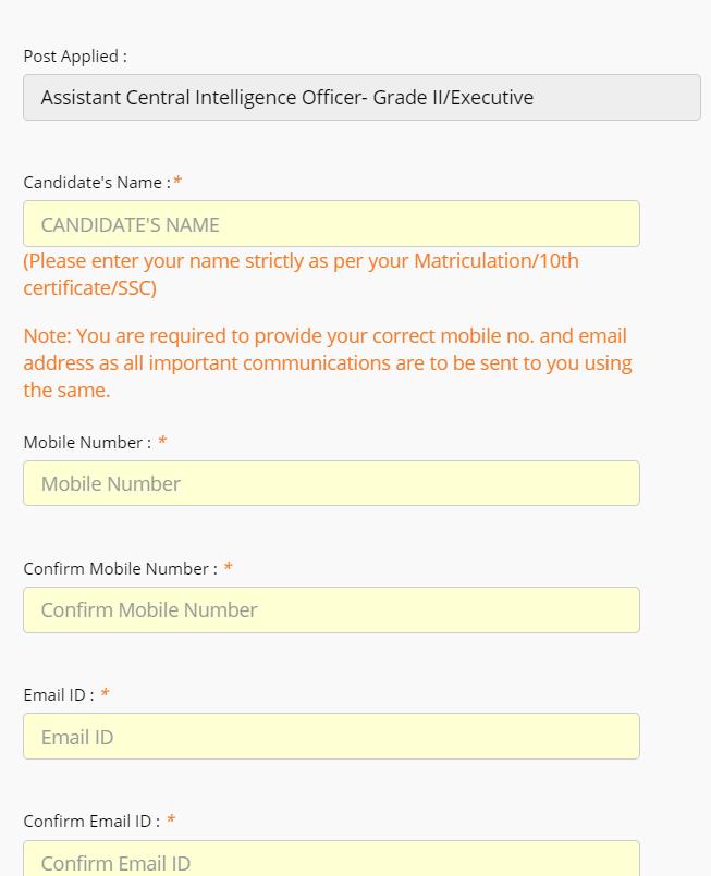 इंटेलिजेंस ब्यूरो ACIO के लिए ऑनलाइन आवेदन करें: ऑनलाइन आवेदन करने की अंतिम तिथि_80.1
