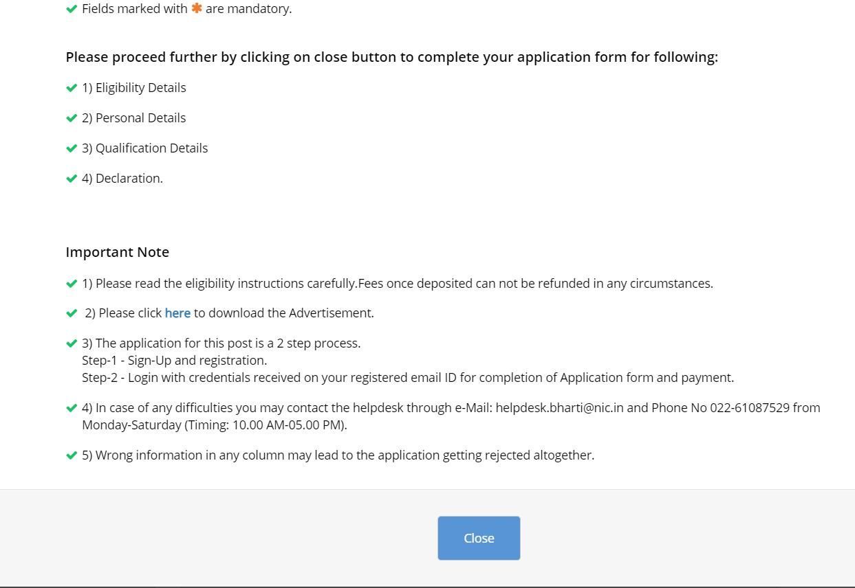 इंटेलिजेंस ब्यूरो ACIO के लिए ऑनलाइन आवेदन करें: ऑनलाइन आवेदन करने की अंतिम तिथि_110.1
