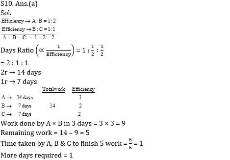 टारगेट SSC CGL | 10,000+ प्रश्न | SSC CGL के लिए समय और कार्य के प्रश्न: आठवां दिन_140.1