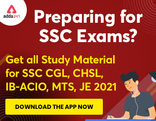 Target SSC Exams 2021-22 10000+ Questions: Attempt Reasoning Quiz | Day 217_130.1