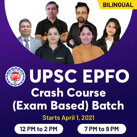 UPSC EPFO Crash Course Batch | Bilingual Live Classes By Adda247_60.1
