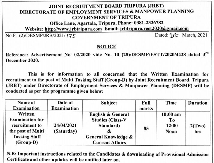 JRBT Recruitment 2021: Last Date To Apply For 2410 Vacancies_70.1