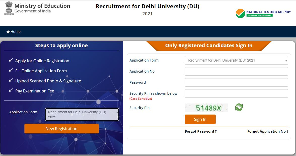 NTA Delhi University Non-Teaching Recruitment 2021: 1145 Vacancies_50.1