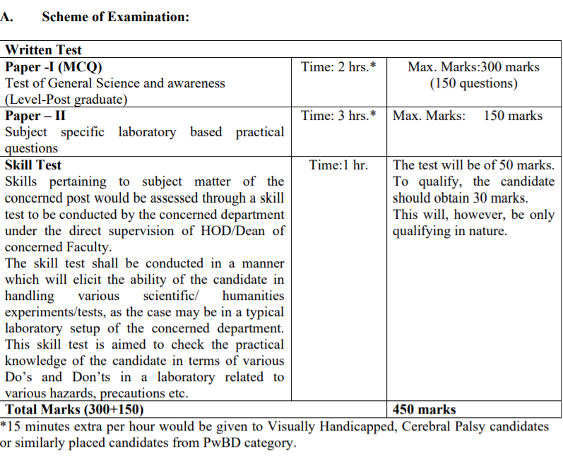 NTA दिल्ली विश्वविद्यालय भर्ती 2021 चयन प्रक्रिया: यहाँ देखें(NTA Delhi University Non 2021 Selection Process: Check Now)_90.1