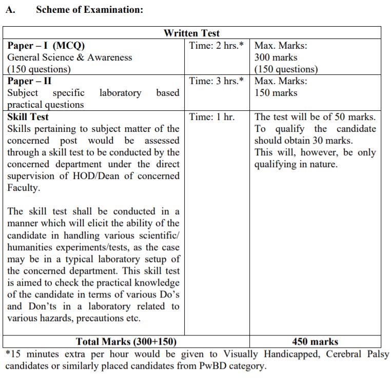 NTA दिल्ली विश्वविद्यालय भर्ती 2021 चयन प्रक्रिया: यहाँ देखें(NTA Delhi University Non 2021 Selection Process: Check Now)_130.1