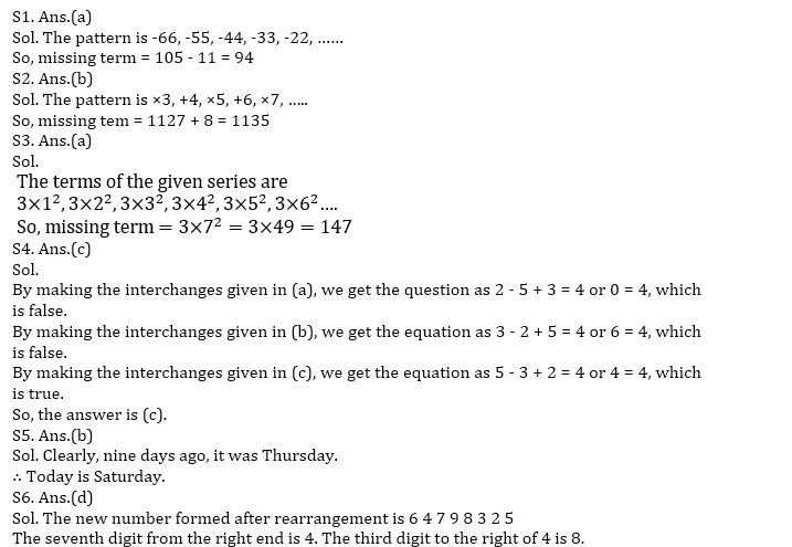 Target SSC CGL | 10,000+ Questions | Reasoning Questions For SSC CGL : Day 65_50.1