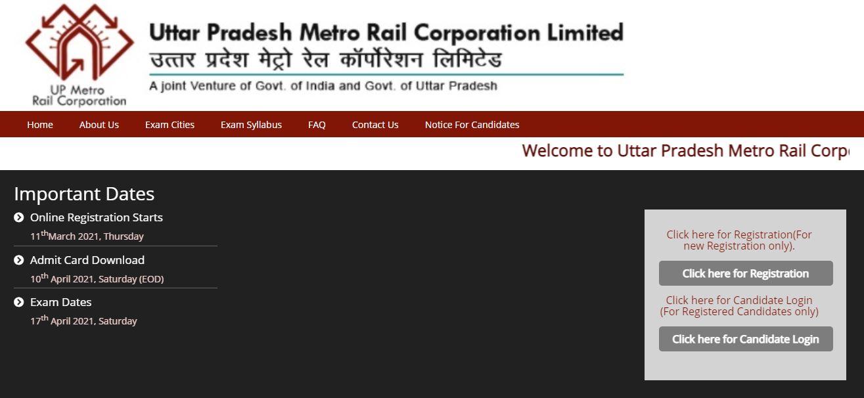UP Metro Recruitment 2021:Apply Link Active For 292 Vacancies_50.1