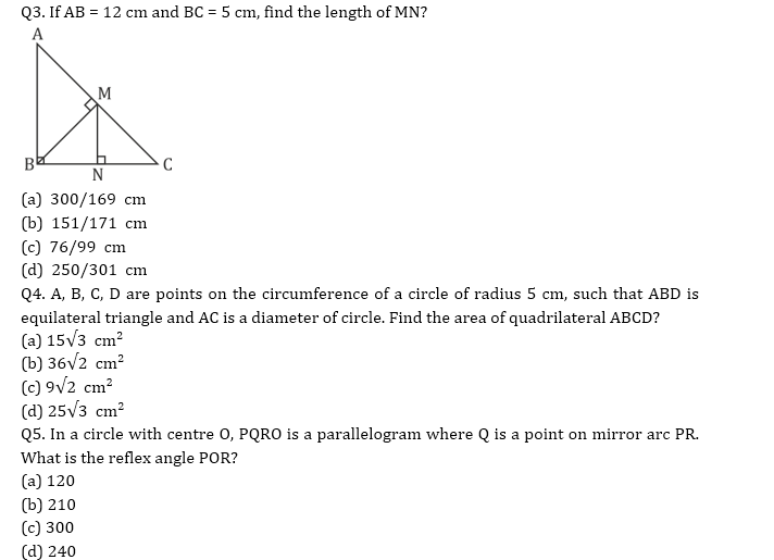 Target SSC CGL | 10,000+ Questions | Quant Questions For SSC CGL : Day 70_60.1