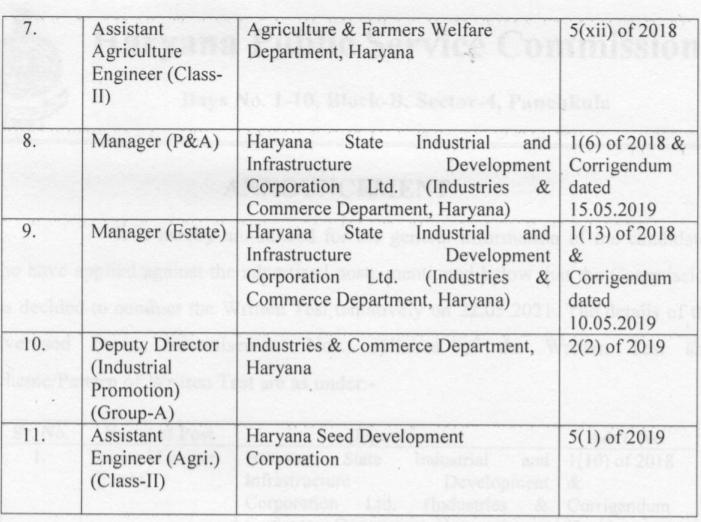 हरियाणा लोक सेवा आयोग लिखित परीक्षा तिथि घोषित : यहाँ देखें विस्तृत जानकारी(Haryana Public Service Commission: Written Test)_60.1