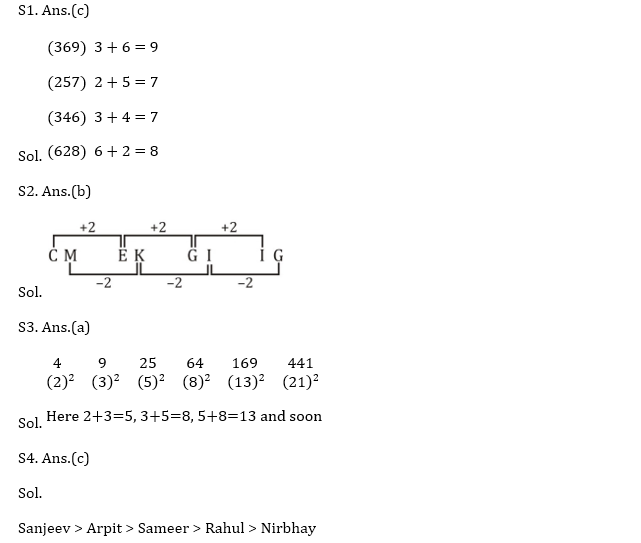 Target SSC CGL | 10,000+ Questions | Reasoning Questions For SSC CGL : Day 80_70.1