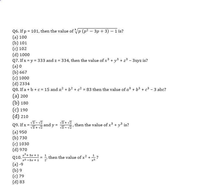 Target SSC CGL | 10,000+ Questions | Quant Questions For SSC CGL : Day 81_60.1