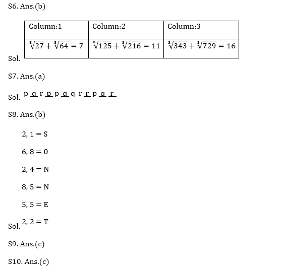 Target SSC CGL | 10,000+ Questions | Reasoning Questions For SSC CGL : Day 81_100.1