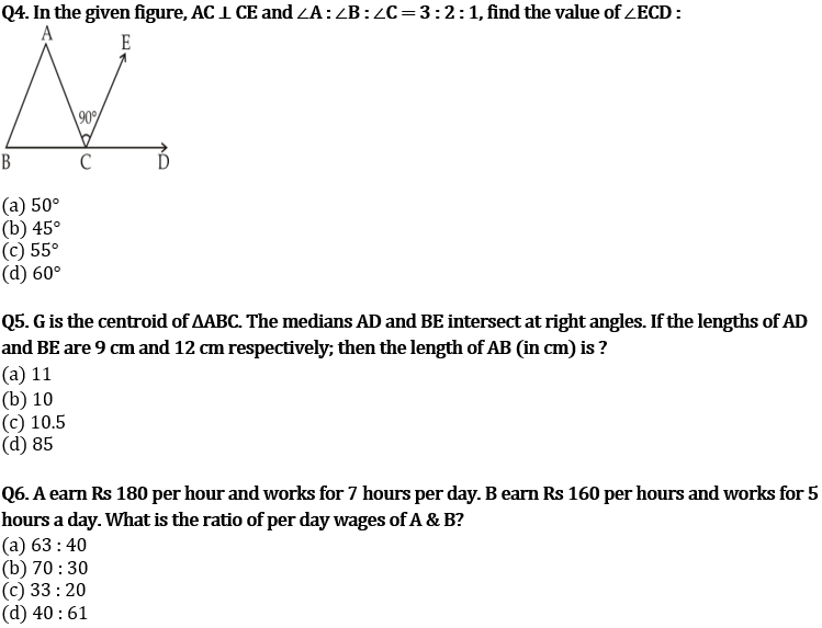 Target SSC CGL   10,000+ Questions   Quant Questions For SSC CGL : Day 121_60.1