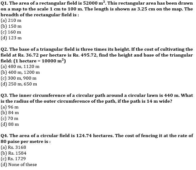 Target SSC CGL   10,000+ Questions   Quant Questions For SSC CGL : Day 122_50.1
