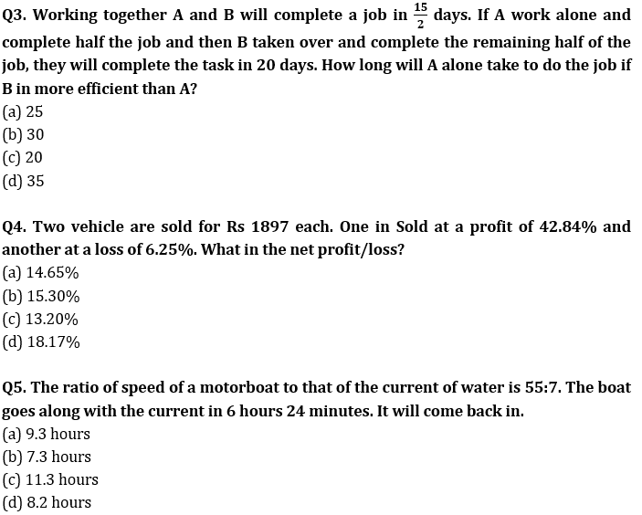 Target SSC CGL | 10,000+ Questions | Quant Questions For SSC CGL : Day 123_60.1