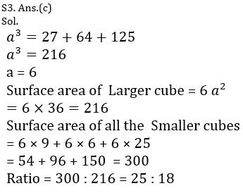 टारगेट SSC CGL | 10,000+ प्रश्न | SSC CGL के लिए गणित के प्रश्न : 126 वाँ दिन_100.1