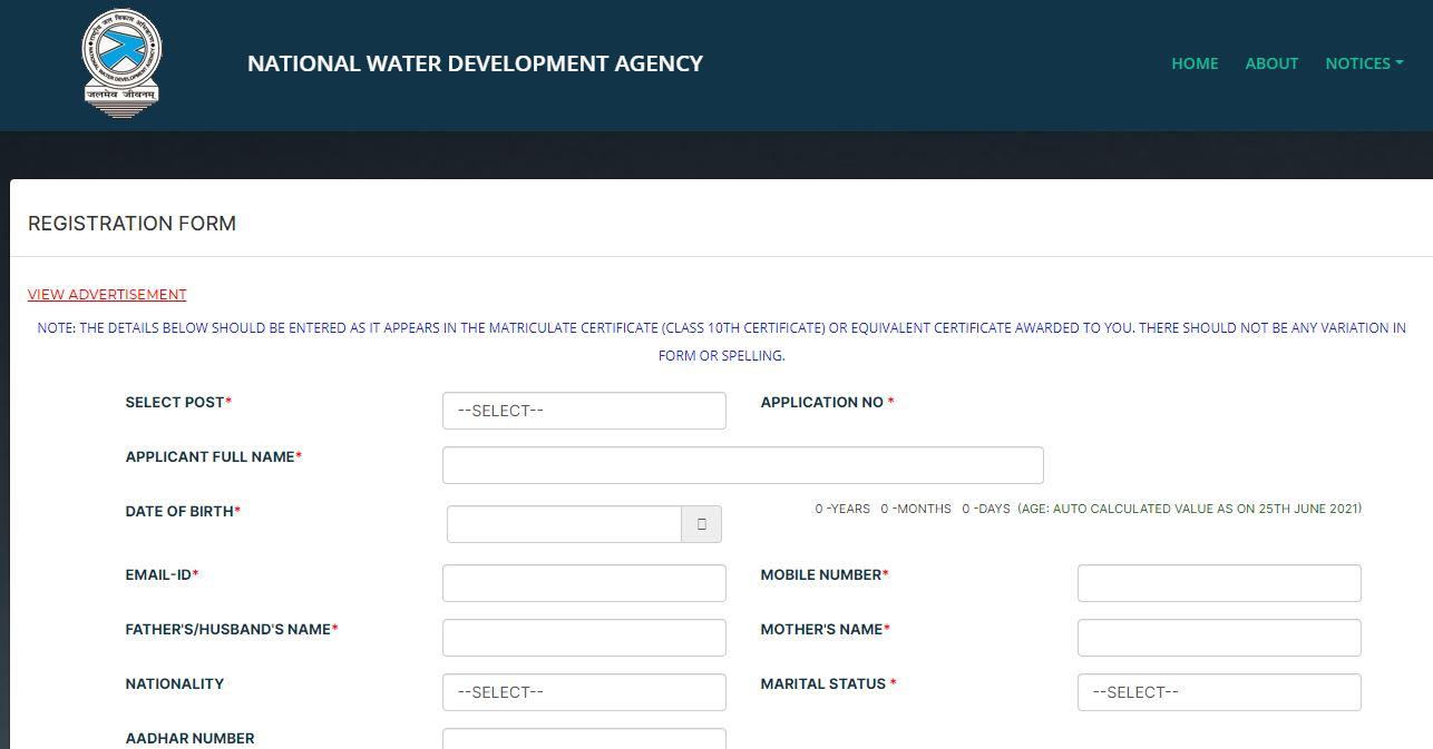 NWDA भर्ती 2021: राष्ट्रीय जल विकास एजेंसी (NWDA) के विभिन्न पदों के लिए करें आवेदन_50.1