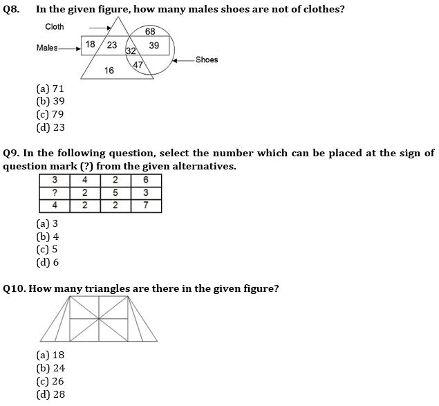 Target SSC CGL | 10,000+ Questions | Reasoning Questions For SSC CGL : Day 130_70.1