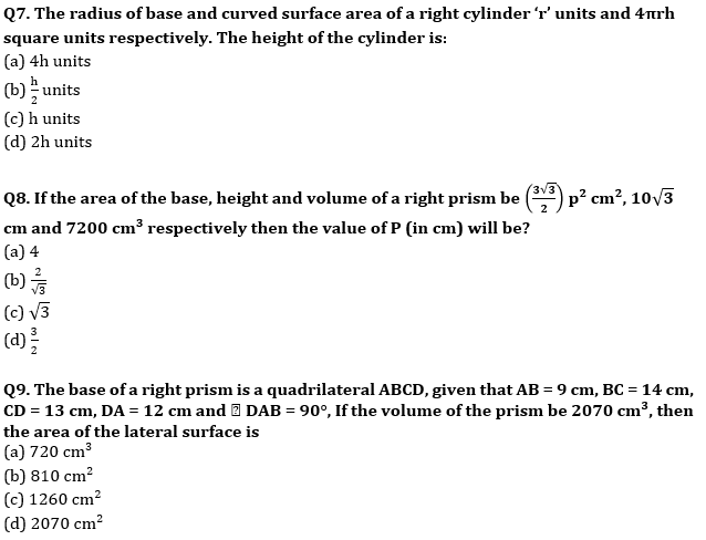 Target SSC CGL   10,000+ Questions   Quant Questions For SSC CGL : Day 137_70.1