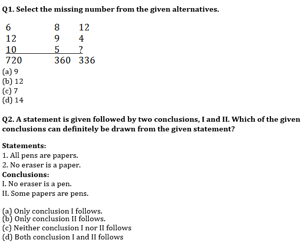 Target SSC CGL | 10,000+ Questions | Reasoning Questions For SSC CGL : Day 137_50.1