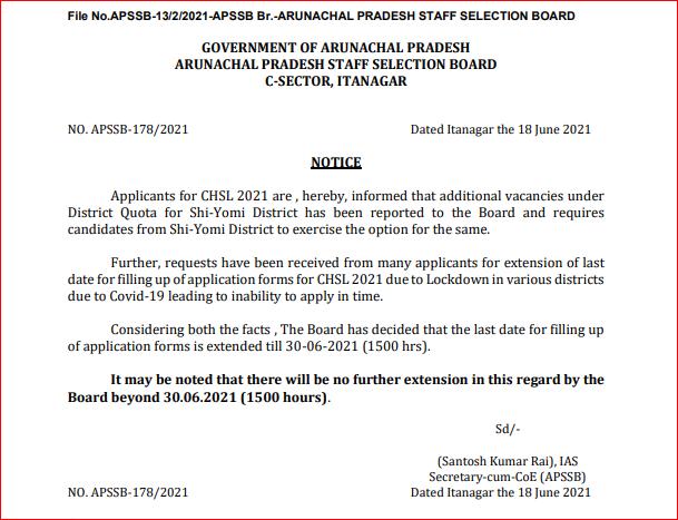 APSSB CHSL भर्ती 2021: 179 रिक्तियों के लिए ऑनलाइन आवेदन करने की अंतिम तिथि बढ़ाई गई_50.1