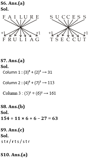 Target SSC Exams 2021-22 10000+ Questions: Attempt Reasoning Quiz | Day 150_110.1