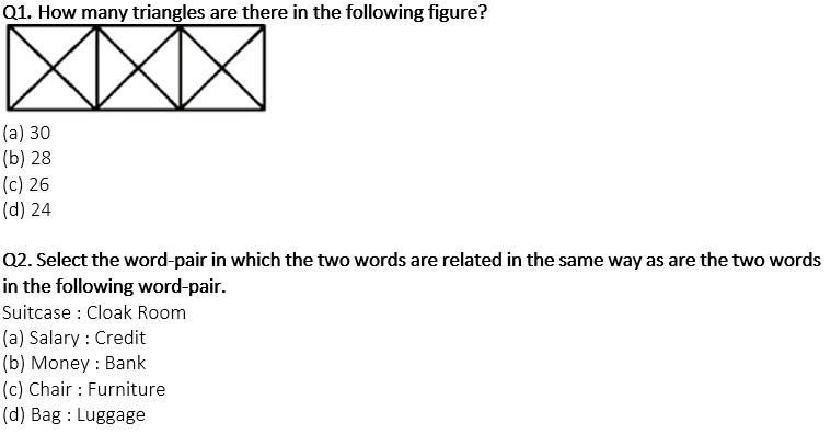 Target SSC Exams 2021-22 10000+ Questions: Attempt Reasoning Quiz   Day 155_50.1