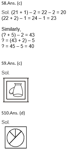 Target SSC Exams 2021-22 10000+ Questions: Attempt Reasoning Quiz   Day 179_110.1