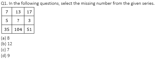 Target SSC Exams 2021-22 10000+ Questions: Attempt Reasoning Quiz   Day 181_50.1