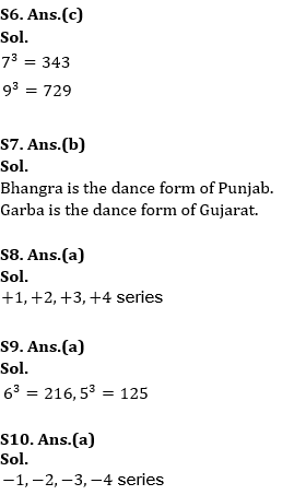 Target SSC Exams 2021-22 10000+ Questions: Attempt Reasoning Quiz | Day 182_60.1