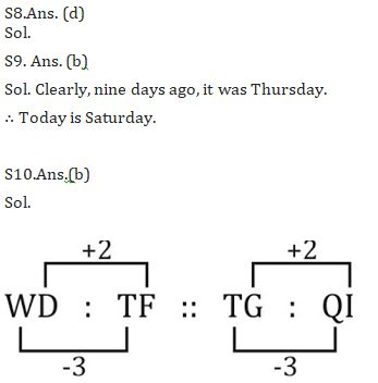 Target SSC Exams 2021-22 10000+ Questions: Attempt Reasoning Quiz   Day 192_70.1