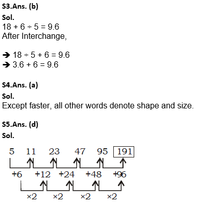 Target SSC Exams 2021-22 10000+ Questions: Attempt Reasoning Quiz | Day 193_90.1