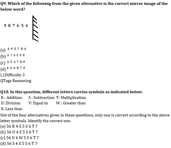 Target SSC Exams 2021-22 10000+ Questions: Attempt Reasoning Quiz | Day 200_80.1