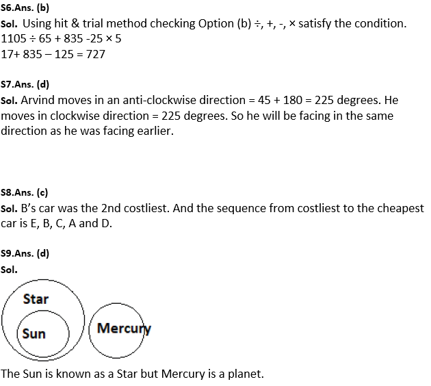 Target SSC Exams 2021-22 10000+ Questions: Attempt Reasoning Quiz | Day 201_80.1