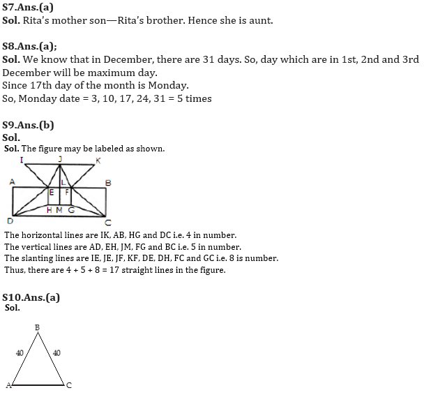Target SSC Exams 2021-22 10000+ Questions: Attempt Reasoning Quiz | Day 203_90.1