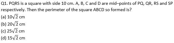 Target SSC Exams 2021-22 10000+ Questions Attempt Maths Quiz | Day 215_50.1