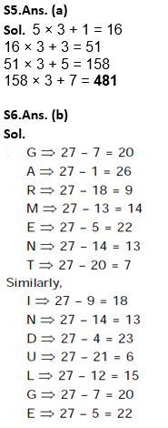 Target SSC Exams 2021-22 10000+ Questions: Attempt Reasoning Quiz | Day 216_80.1