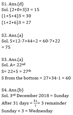 Target SSC Exams 2021-22 10000+ Questions: Attempt Reasoning Quiz | Day 221_50.1