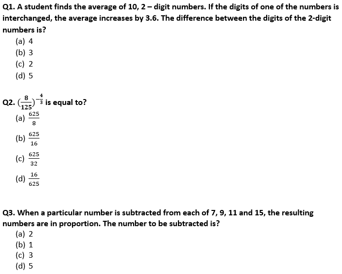 Target SSC Exams 2021-22 10000+ Questions Attempt Maths Quiz | Day 223_50.1