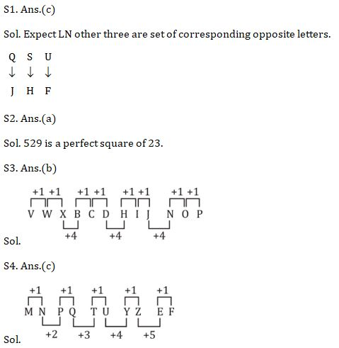 Target SSC Exams 2021-22 10000+ Questions: Attempt Reasoning Quiz | Day 226_70.1