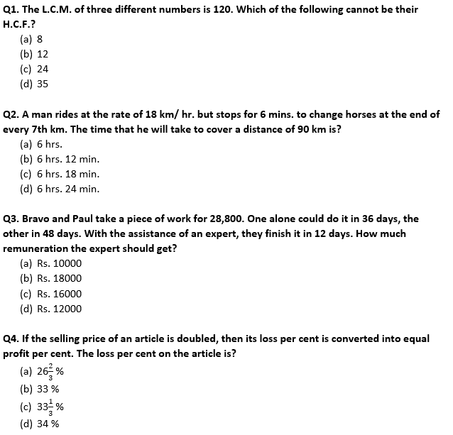 Target SSC Exams 2021-22 10000+ Questions Attempt Maths Quiz | Day 233_50.1