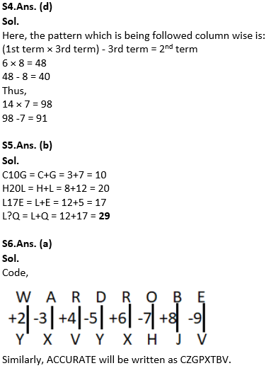 Target SSC Exams 2021-22 10000+ Questions: Attempt Reasoning Quiz | Day 236_90.1